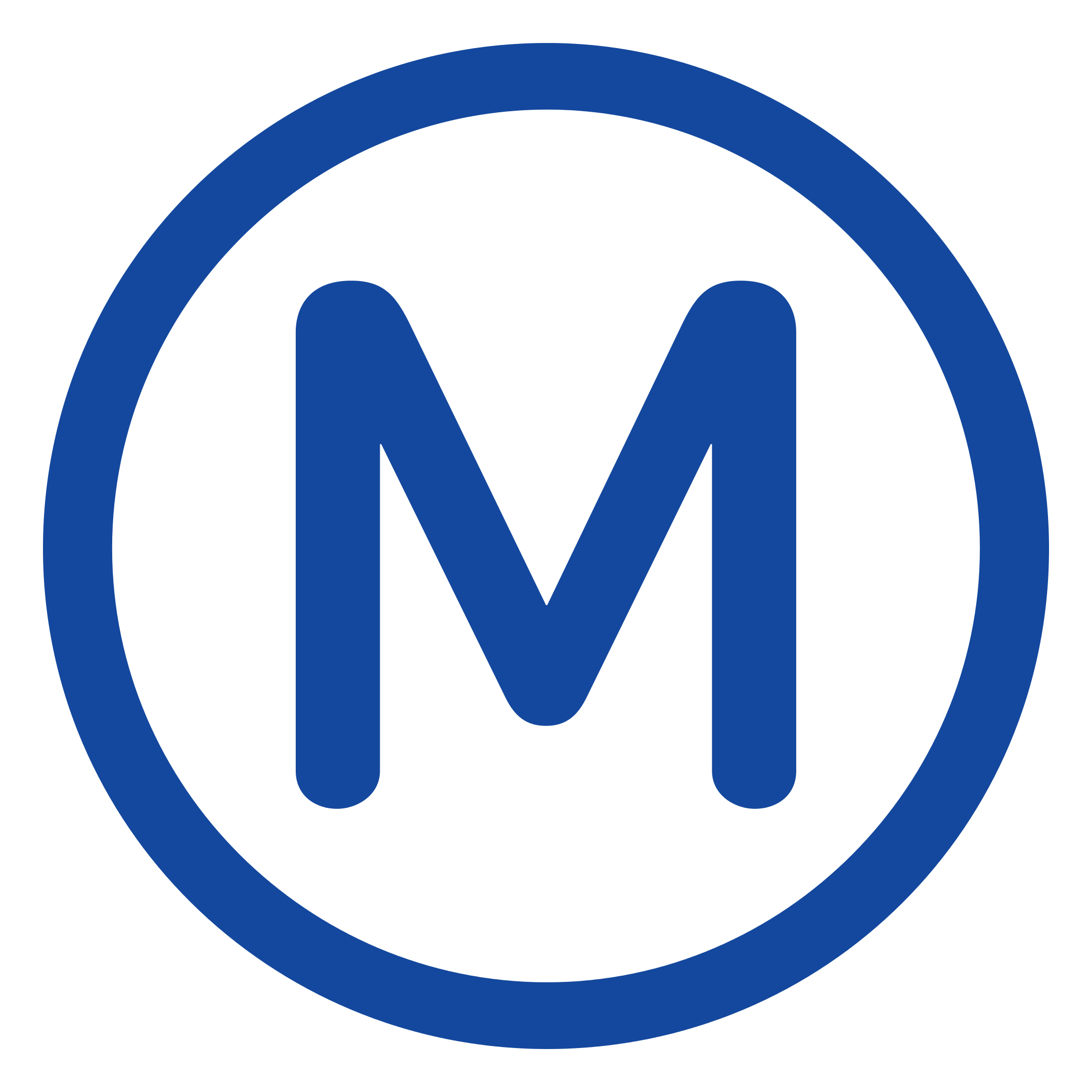 logo metro paris